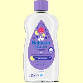 Масло для тела Natusan by Johnson's Bedtime Baby Oil 300 мл.
