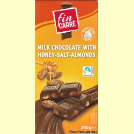 Шоколад белый fin KARRE Hazelnut White Chocolate (с цельным фундуком) 200 гр.
