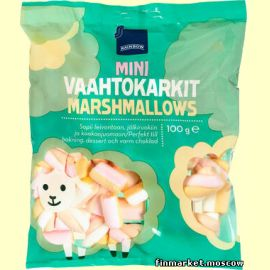 Зефир Rainbow Mini Vaahtokarkit Marshmallows 100 гр.