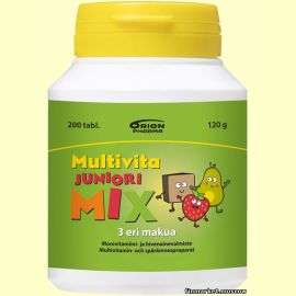 Multivita Juniori MIX 200 табл.