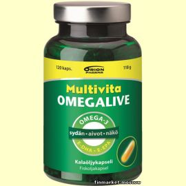 Multivita Omegalive Basic 120 капсул