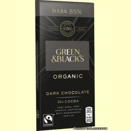Шоколад горький Green & Black's Organic 85% cocoa 90 гр.