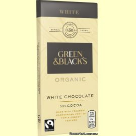Шоколад белый Green & Black's Organic White 90 гр.