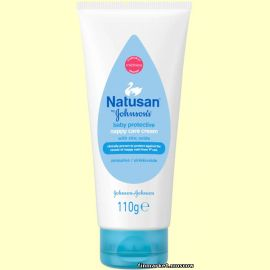 Крем цинковый Natusan by Johnson's 3in1 Nappy Care Cream sinkkivoide 100 мл.