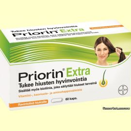 Priorin Extra. 60 капсул.