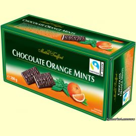Шоколад Maitre Truffout Chocolate Orange Mints 200 гр.