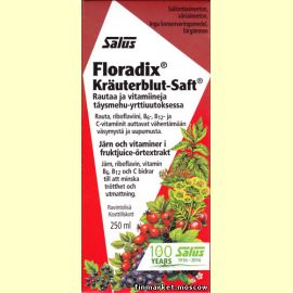 Salus® Floradix®, Liquid iron and vitamin formula 250 мл.